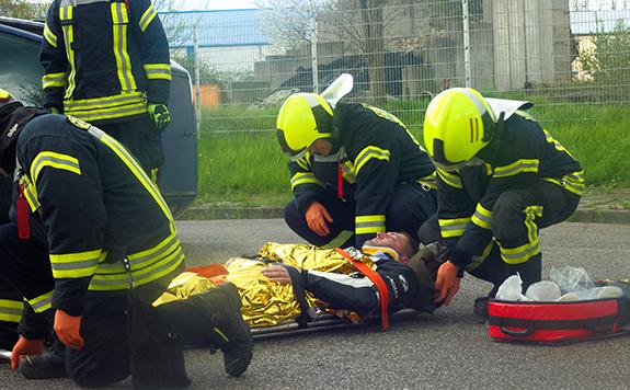 Erste-Hilfe M-V - Silvio Tretow - Feuerwehr - First Responder-Ausbildung