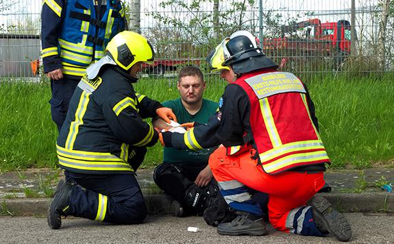 Erste-Hilfe M-V - Silvio Tretow Feuerwehr - Truppmann-Ausbildung